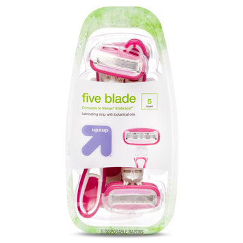 up & up Women's 5 Blade Disposable Razors - 5 ct