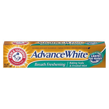 Arm & Hammer Advance White Breath Freshening Baking Soda & Frosted Mint Toothpaste