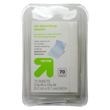 up & up Oil Absorbing Sheets - 70 ct
