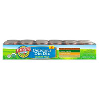 Earth's Best Organic Delicious Din Din Baby Food Variety Pack, 4 oz.