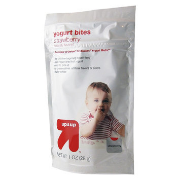 up & up Baby Food Yogurt Bites - Strawberry - 1 oz