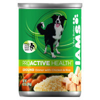 P & G DOG FOOD WET 13.2OZ IAMS CKN RICE