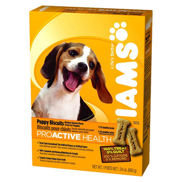 Procter & Gamble Iams ProActive Health Puppy Biscuits - 24 oz.