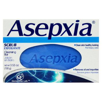 Asepxia Scrub Cleansing Bar Soap 4 oz