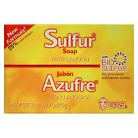Midway Grisi Sulfur Soap with Lanolin, 4.4 oz