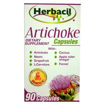 Herbacil Artichoke 90 Capsules - Alcachofa Capsulas