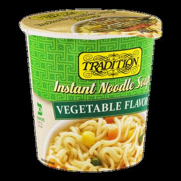 Tradition Instant Noodle Soup Vegetable Flavor