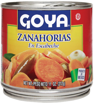 Goya® Mexican-Style Sliced Carrots