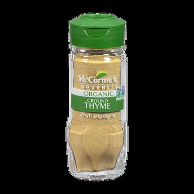 McCormick Gourmet™ Organic Thyme, Ground