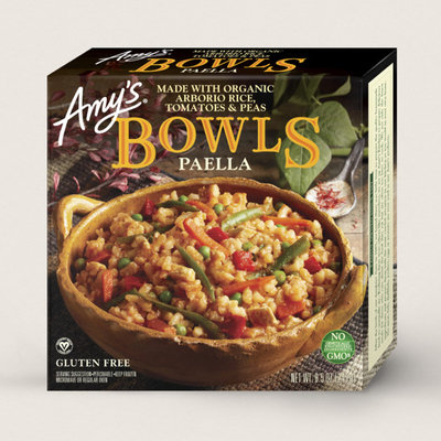 Amy's Kitchen Paella Bowl