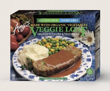 Amy's Kitchen Veggie Loaf Meal, Gluten Free, Dairy Free