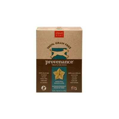 Cloud Star Provenance Dog Treats, Grain Free, 16oz Box, Fish & Potato