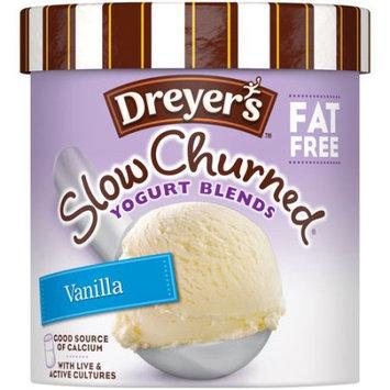 Edy's Slow Churned Yogurt Blends Fat Free Vanilla