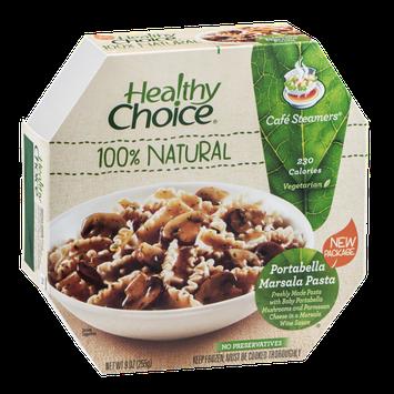 Healthy Choice Cafe Steamers Portabella Marsala Pasta