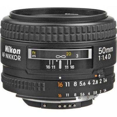 Nikon 50mm f/1.4D AF Zoom Nikkor Lens
