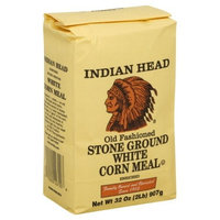 Indian Head Corn Meal Old Fashioned Stone Ground White 2 Lb-2 packs