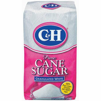 C&H : Pure Cane Granulated White Sugar