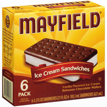 Mayfield Vanilla Ice Cream Sandwiches