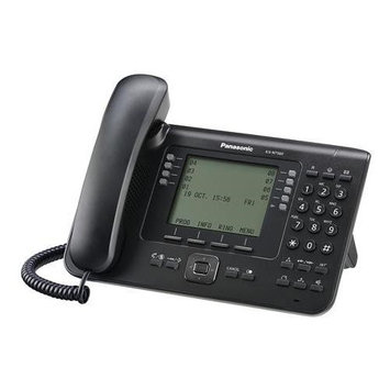 Panasonic KX-NT560-B Flexible Co Buttons, Backlit Lcd Display
