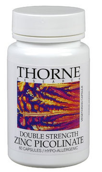 Thorne Research Double Strength Zinc Picolinate 60 Capsules
