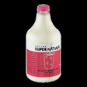 Kalona Super Natural Organic Reduced Fat 2% Milk
