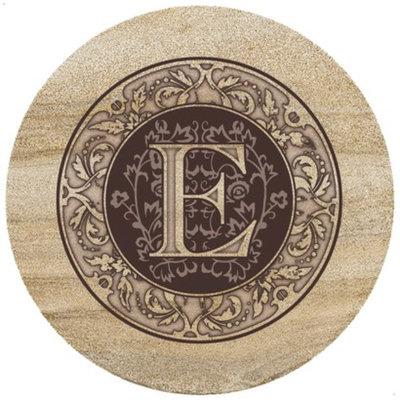ThirtyStone Coasters Monogram E Trivet