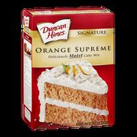 Duncan Hines Signature Cake Mix Orange Supreme