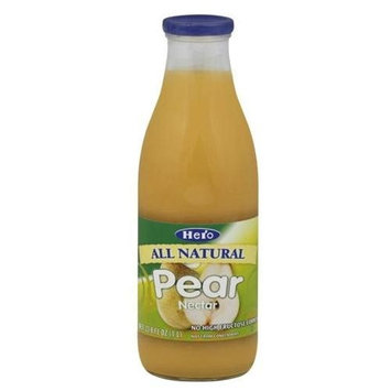 Hero Pear Nectar, Size: 33.8 Oz (Pack of 6)