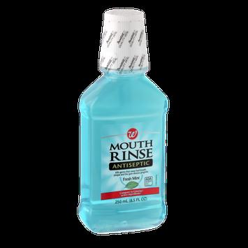 Walgreens Antiseptic Fresh Mint Mouth Rinse