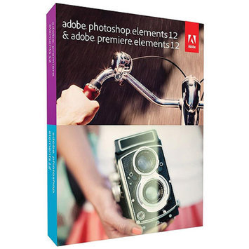 Adobe Photoshop Elements 12 plus Adobe Premiere Elements 12 - Complete Package - 1 User - DVD - Win, Mac - Universal Eng