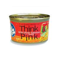 Pure Alaska Salmon Think Pink Wild Alaska Pink Salmon -The Original Smart Al-TUNA-tive!, (12) 7.5 Oz. Cans