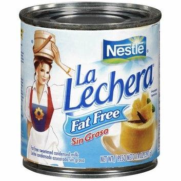La Lechera : Fat Free Sweetened (Label Only) Condensed Milk