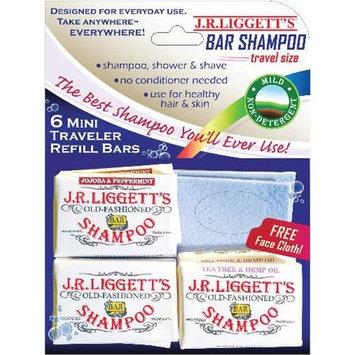 Jr Liggett J.R. Liggett Hair Shampoo Travel Mini Traveler Refill Pack