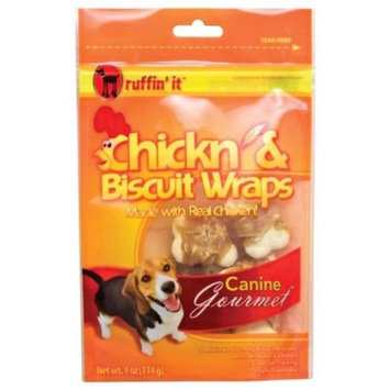Westminster Pet Products Westminster Pet 83008185 Westminster Pet 7N08185 Ruffin it Chicken and Biscuit Wrap 4oz