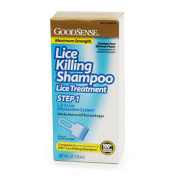 Good Sense Lice Killing Shampoo, 4 fl oz
