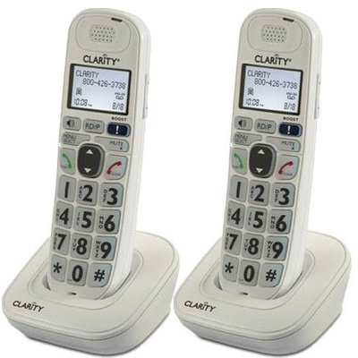 Clarity D702HS (2-Pack) Amplified Additional Handset Cordless Phone