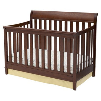 Delta Children Delta Haven 4-in-1 Convertible Crib - Espresso Truffle