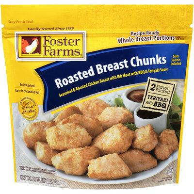 Foster Farms Roasted Breast Chunks, 24 oz