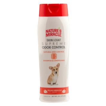 Nature's Miracle® Plum Hibiscus Scented Dog Shampoo & Conditioner