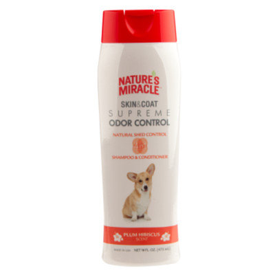 Nature's Miracle NATURE'S MIRACLETM Plum Hibiscus Scented Dog Shampoo & Conditioner