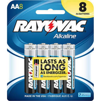 Rayovac Alkaline Multi-Pack AA Batteries