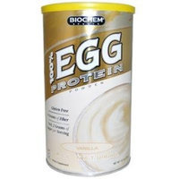Bio Chem Biochem 100% Egg Protein Powder, Vanilla, 14.7-Ounce