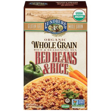 Lundberg Family Farms Whole Grains Red Beans and Rice mix, 6 OZ (Pack of 6)