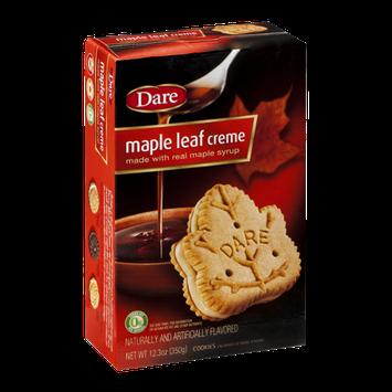 Dare Cookies Maple Leaf Creme
