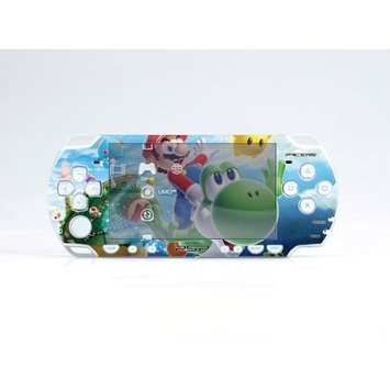 Pacers MARIO PSP (Slim) Dual Colored Skin Sticker, PSP 2000