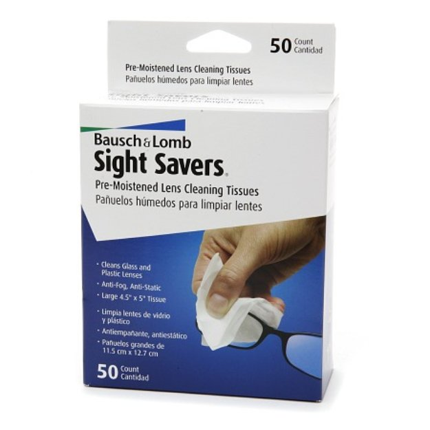 Sight Savers Pre-Moistened Lens Cleaning Tissues