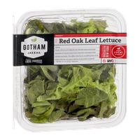 Gotham Greens Red Oak Leaf Lettuce