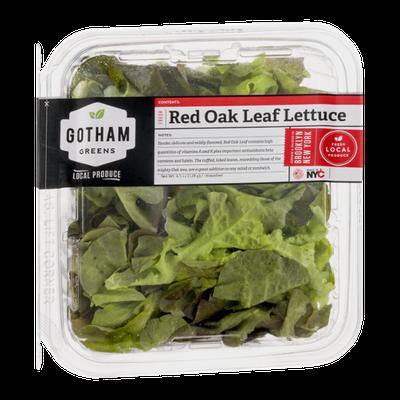 Gotham Greens Red Oak Leaf Lettuce