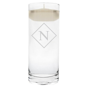 Cathy's Concepts Diamond Initial Floating Unity Candle N