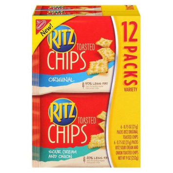 Nabisco RITZ Toasted Chips Variety